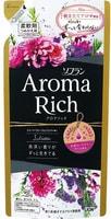"""LION """"Soflan Aroma Rich Juliette"""" Кондиционер для белья с богатым ароматом натуральных масел, сменная упаковка, 400 мл."""