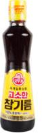 """Ottogi """"Sesame Oil"""" Масло кунжутное нерафинированное, 320 мл."""