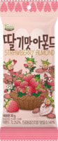 """Kukje """"Strawberry Almond"""" Миндаль обжаренный со вкусом клубники, 30 гр."""