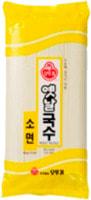 """Samjin """"Wheat noodle"""" Лапша пшеничная - круглая и очень тонкая, 500 гр."""