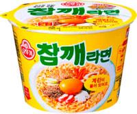 "Ottogi ""Sesame Ramen"" Лапша со вкусом гровядины и кунжута, 110 гр."