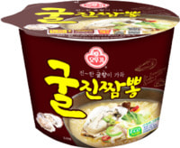 "Ottogi ""Jin Jjambbong Ramen with Oyster"" Лапша со вкусом устрицы, 110 гр."