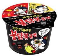 "Samyang ""Hot chicken flavor ramen stew type"" Лапша со вкусом острой курицы, 105 гр."