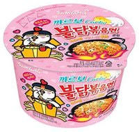"Samyang ""Hot chicken flavor ramen Carbo"" Лапша со вкусом острой курицы и соуса карбонара, 105 гр."