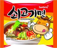 "Samyang ""Sogokimyun"" Лапша со вкусом гровядины, 120 гр."