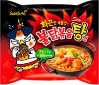 "Samyang ""Hot chicken flavor ramen stew type"" Лапша со вкусом острой курицы, 145 гр."