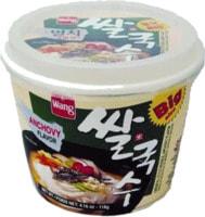 """Samjin """"Rice noodle with seafood flavor"""" Лапша рисовая со вкусом морепродуктов, 98 гр."""