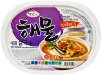 """Han's """"Rice noodle with seafood flavor"""" Рисовая вермишель - вкус морепродуктов, 92 гр."""
