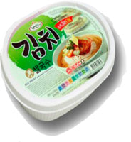 "Han's ""Rice noodle with kimchi flavor"" Рисовая вермишель вкус кимчи, 92 гр."