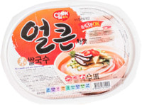 "Han's ""Rice noodle with spicy beef flavor"" Рисовая вермишель вкус острой гровядины, 92 гр."