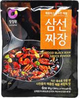 """Daesang """"Seafood black bean sauce powder"""" Основа для пригротовления соуса из черных соевых бобов - вкус морепродуктов, 80 гр."""