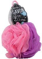 """Yokozuna """"Savon Body Ball"""" Мочалка для тела в форме шара 2-х сторонняя: мягкая/жёсткая. Розовая."""