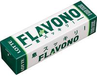 """Lotte """"Flavono"""" Жевательная резинка, 9 пластинок."""