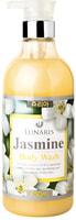 """Lunaris """"Body Wash Jasmine"""" Гель для душа с экстрактом жасмина, 750 мл."""