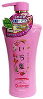 """Kracie """"Ichikami"""" Шампунь для придания объема поврежденным волосам с ароматом граната, 480 мл."""