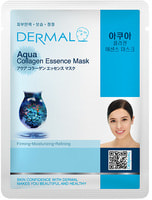 """Dermal """"Сила океана"""" Косметическая маска с коллагеном и морской водой, 1 шт."""
