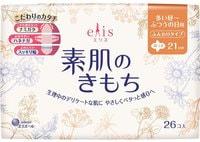 """Daio Paper Japan """"Elis Megami Slim Normal"""" Тонкие особомягкие гигиенические прокладки с усиленным впитывающим слоем (с крылышками (Нормал) 21 см, 26 шт."""