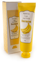 "FarmStay ""I Am Real Fruit Banana Hand Cream"" Крем для рук с экстрактом банана, 100 гр."