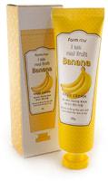 "FarmStay ""I Am Real Fruit Banana Hand Cream"" Крем для рук с экстрактом банана, 100 гр."