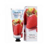 "FarmStay ""Visible Difference Hand Cream Strawberry"" Крем для рук с экстрактом клубники, 100 гр."