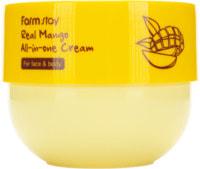 """FarmStay """"Real Mango All-in-one Cream"""" Многофункциональный крем с экстрактом манго, 300 мл."""