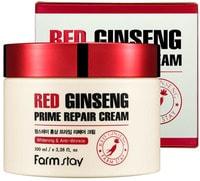 "FarmStay ""Red Ginseng Prime Repair Cream"" Восстанавливающий крем с экстрактом красного женьшеня, 100 мл."