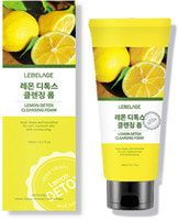 "Lebelage ""Lemon Detox Cleansing Foam"" Детокс-пенка для умывания с лимоном, 180 мл."