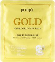 "Petitfee ""Gold Hydrogel Mask Pack"" Гидрогелевая маска для лица с золотом, 32 гр."