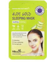 """MBeauty """"Aloe Gold Sleeping Mask"""" Успокаивающая ночная маска с экстрактом алоэ, 7 гр х 3 шт,"""