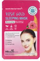 "MBeauty ""Rose Gold Sleeping Mask"" Увлажняющая ночная маска с розовой водой, 7 гр х 3шт."