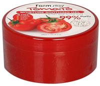 "FarmStay ""Tomato Moisture Soothing Gel"" Увлажняющий успокаивающий гель с экстрактом томата, 300 мл."