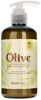 "FarmStay ""Olive Moisture Balancing Body Lotion"" Увлажняющий лосьон для тела с экстрактом оливы, 250 мл."