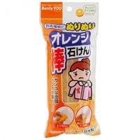 """KOKUBO """"Benly You"""" Мыло - пятновыводитель с экстрактом апельсина, от жирных пятен, 110 гр."""