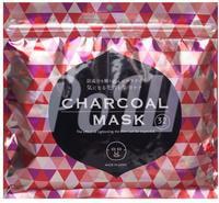 """SPC """"Charcoal Face Mask"""" Маска для лица с древесным углем, 32 шт."""