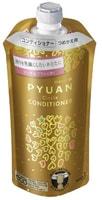 """KAO """"Merit Pyuan - Circle"""" Кондиционер для волос с ароматом персика и сливы, сменная упаковка, 340 мл."""
