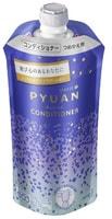 """KAO """"Merit Pyuan - Action"""" Кондиционер для волос с ароматом цитрусовых и подсолнечника, сменная упаковка, 340 мл."""