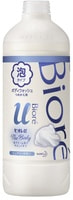 """KAO """"Biore U Foaming Body Wash Pure Savon"""" Пена для душа """"Пикантный аромат свежести"""", сменная упаковка, 450 мл."""