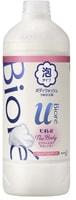 """KAO """"Biore U Foaming Body Wash Brilliant Bouquet"""" Пена для душа """"Изысканный букет"""", сменная упаковка, 450 мл."""