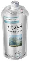 """KAO """"Merit Pyuan - Natural"""" Кондиционер для волос с ароматом мяты и ландыша, сменная упаковка, 340 мл."""