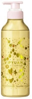"""KAO """"Merit Pyuan - Circle"""" Шампунь для волос с ароматом персика и сливы, 425 мл."""