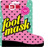 Blingpop Восстанавливающая маска SPA-носочки для ног с питательными маслами и натуральными экстрактами, 1 пара.