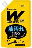 """Nissan """"Workers"""" Жидкое средство для стирки сильнозагрязненной экипировки для экстремальных видов спорта и одежды специалистов - механиков, поваров, строителей, спортсменов, сменная упаковка, 720 гр."""