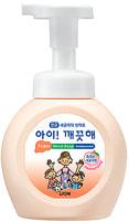 """CJ Lion """"Ai - Kekute"""" Мыло пенное для рук с антибактериальным эффектом, с ароматом персика, флакон, 250 мл."""