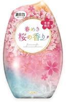 """ST """"Shoushuuriki"""" Жидкий освежитель воздуха для комнаты, аромат цветущей сакуры, 400 мл."""