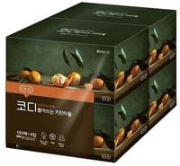 """Ssangyong """"Codi Pop-up Kitchen Towel"""" Полирующие кухонно-хозяйственные салфетки с выпуклым тиснением, двухслойные, 150 листов (215 х 215 мм) * 4 упаковки."""