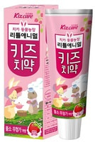 """Mukunghwa """"Kizcare"""" Детская зубная паста с ярким вкусом клубники, без фтора, 80 гр."""