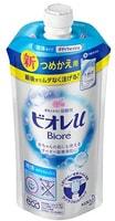 """KAO """"Biore U"""" Мягкое пенное мыло для всей семьи, цветочный аромат, сменная упаковка, 340 мл."""