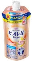 KAO «Biore U» Мягкое пенное мыло для всей семьи, с увлажняющим эффектом, фруктово-цветочный аромат, сменная упаковка, 340 мл.
