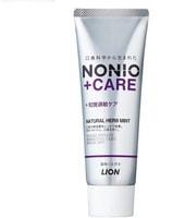 """Lion """"Nonio"""" Профилактическая зубная паста для чувствительных зубов для удаления неприятного запаха, отбеливания и комплексного ухода, аромат трав и мяты, 130 гр."""