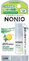 """Lion """"Nonio"""" Спрей для свежего дыхания и предотвращения неприятного запаха изо рта, аромат цитрусовых и мяты, 5 мл."""